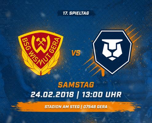 BSG Wismut Gera vs. INTER Leipzig