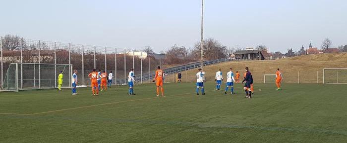 1:1 in Riesa - Guter Test vorm Oberliga-Start