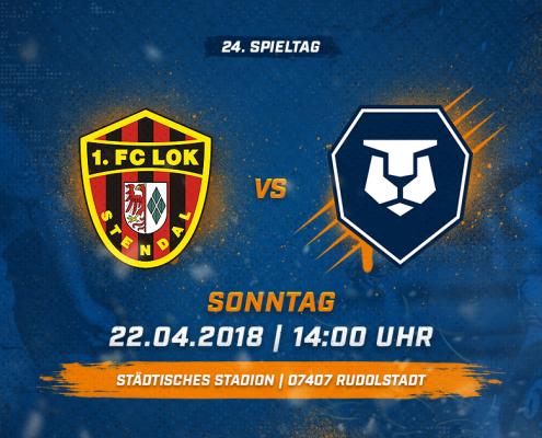 1. FC Lok Stendal vs. INTER Leipzig