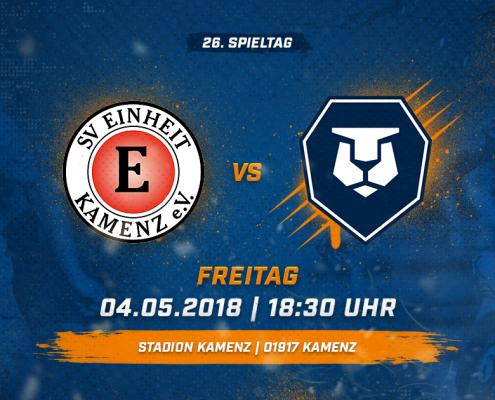 SV Einheit Kamenz vs. INTER Leipzig