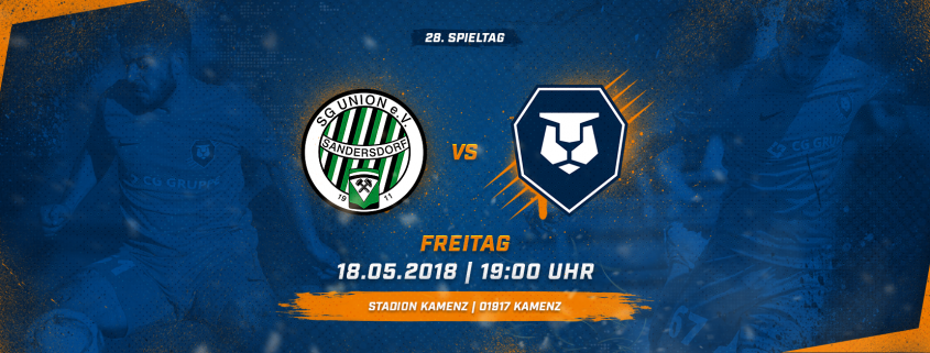 SG Union Sandersdorf vs. INTER Leipzig