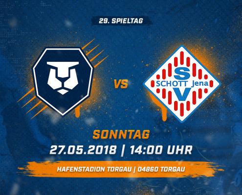 INTER Leipzig vs. SV SCHOTT Jena