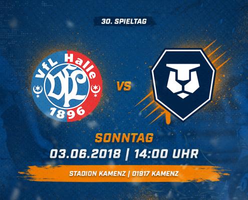VfL 96 Halle vs. INTER Leipzig