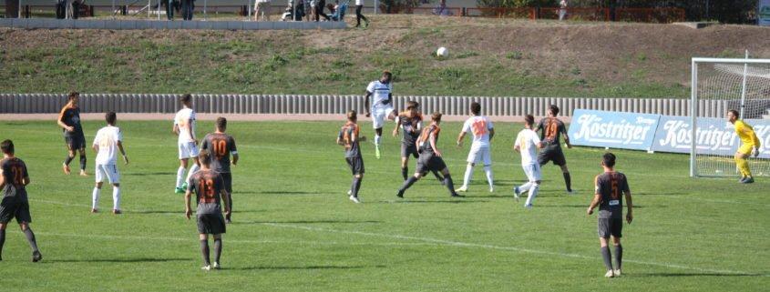 Spiel und Gegner beherrscht, aber nicht ins Schwarze getroffen: 0:0 bei Wismut Gera