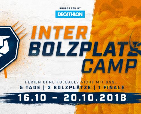 Das INTER-Bolzplatz-Camp lädt alle Ferienkinder zum Fußballspielen ein