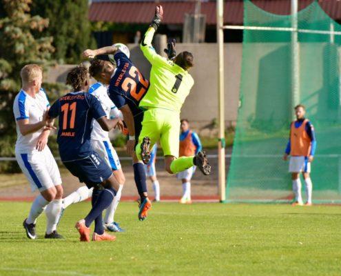 Fanaktion beim Spitzenspiel im Hafenstadion - 1:1 gegen Nordhausen II