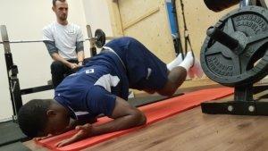 Makengo wieder im Kader - Dank professioneller Unterstützung im MEDIAN Sportmedizinischen Institut Leipzig