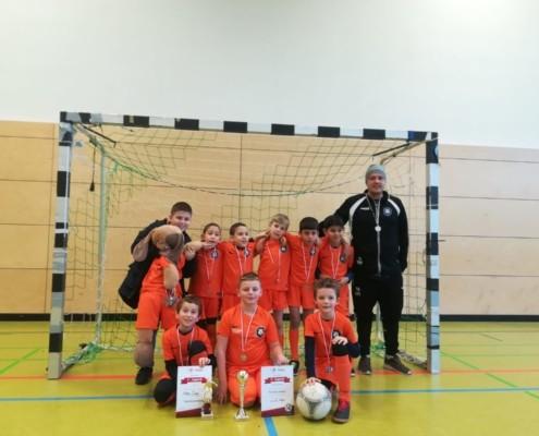 F-Jugend holt 2. Platz beim Hallenturnier der SpVgg Leipzig