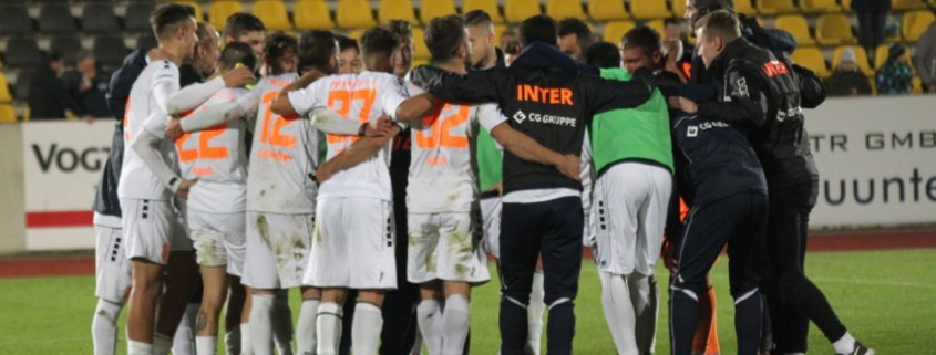 Testspiel vereinbart: INTER tritt am 5. Februar beim Chemnitzer FC an