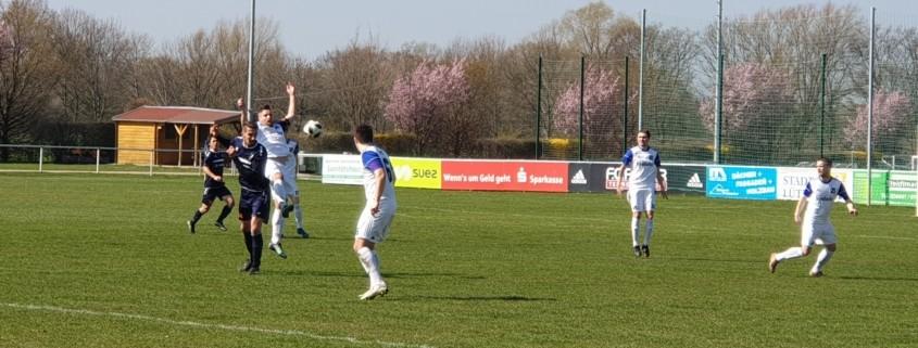 INTER spielt nur 1:1 beim SV Blau-Weiß Zorbau