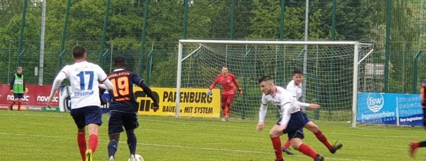 3:0 in Halle - dritter Sieg in Folge für unsere Erste