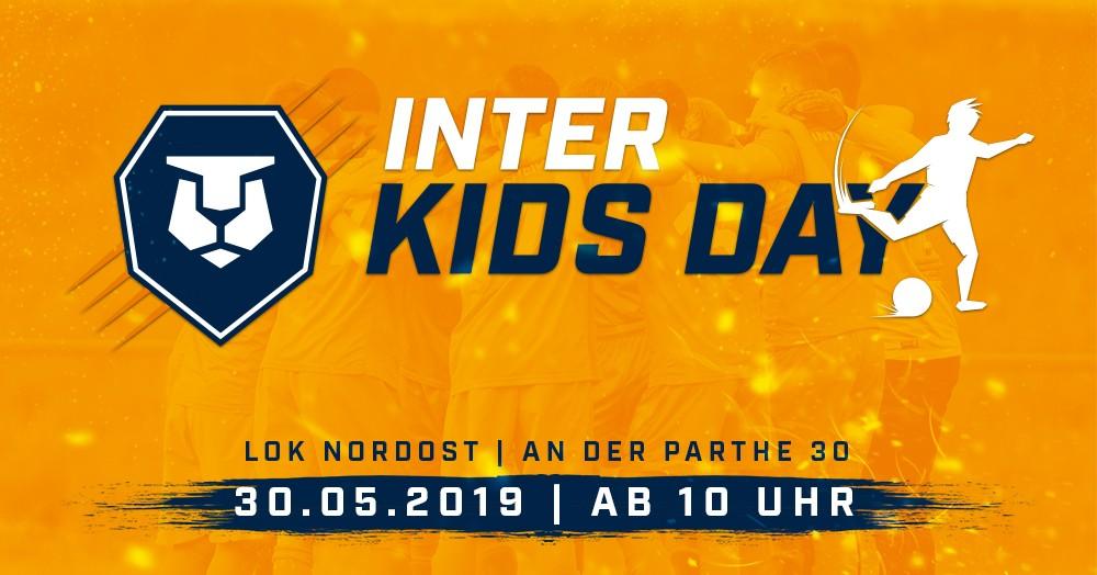 INTER Kids Day am 30.05.19 - jetzt anmelden!