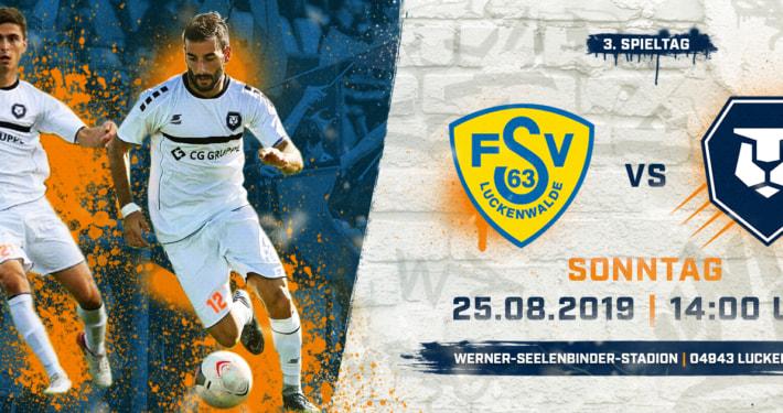 0:1 gegen FSV Luckenwalde - knappe Niederlage beim Staffel-Favoriten