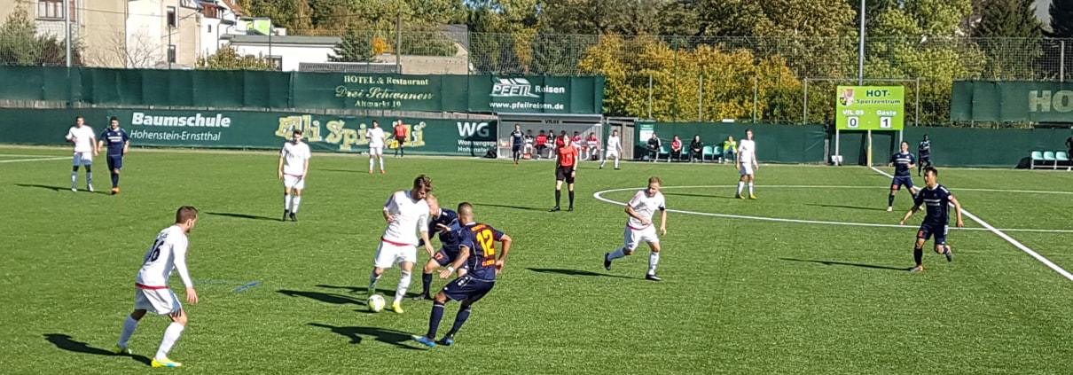 3:0 bei HOT - Pokalaufgabe souverän gegen ersatzgeschwächte Gastgeber gelöst