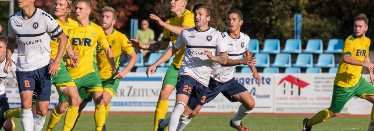 2:3 gegen Rudolstadt - INTER verschläft die erste Halbzeit und verliert