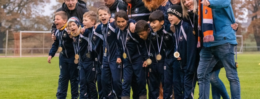 Pokal-Freuden auch bei unseren INTER-Youngster