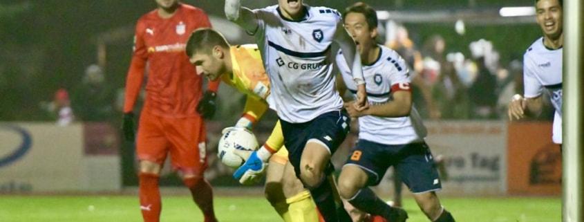 INTER im Halbfinale - Pokalsensation gegen Drittligisten Zwickau geschafft