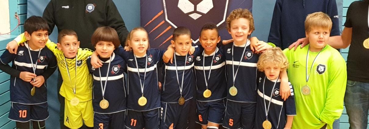 U9-Youngster für ungeschlagenen Staffelsieg geehrt