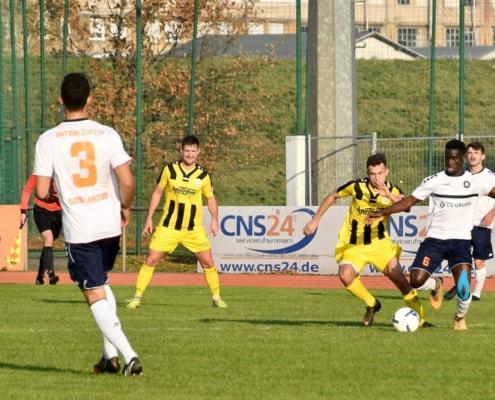 INTER will Erfolgsserie auch gegen Aufsteiger aus Martinroda fortsetzen