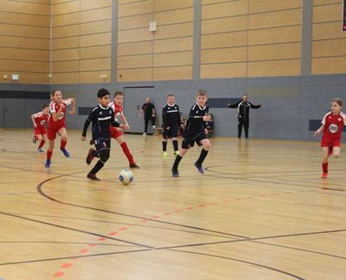 BSV Eintracht Mahlsdorf setzt sich auf den Turnierthron der U11-Junioren