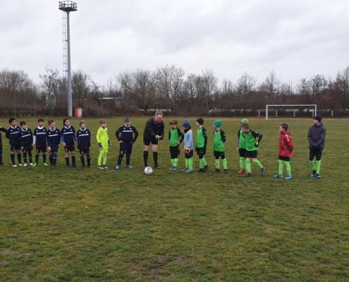 INTER-Youngster testen erfolgreich an der Döllingstraße