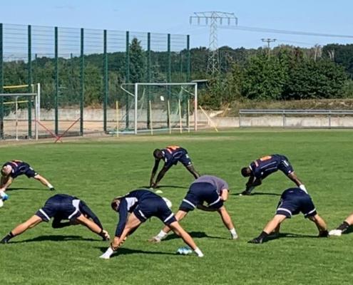 Oberligateam startet mit Vollgas in die Saisonvorbereitung