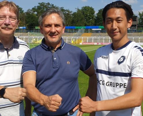 Starker Partner - EVR Medical Conceptions unterstützt ab sofort INTER Leipzig