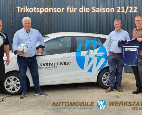 Starker Partner - Werkstatt-West Teamsponsor für unsere D-Jugend