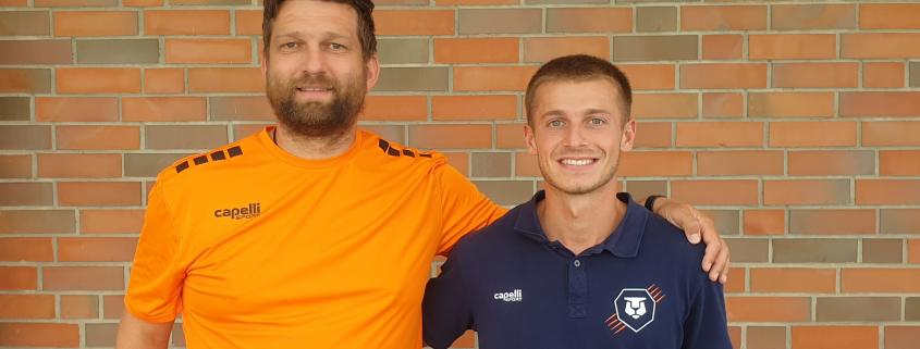 Neuer Mann für die Defensive: Thomas Mickoski - unser Canadian Guy