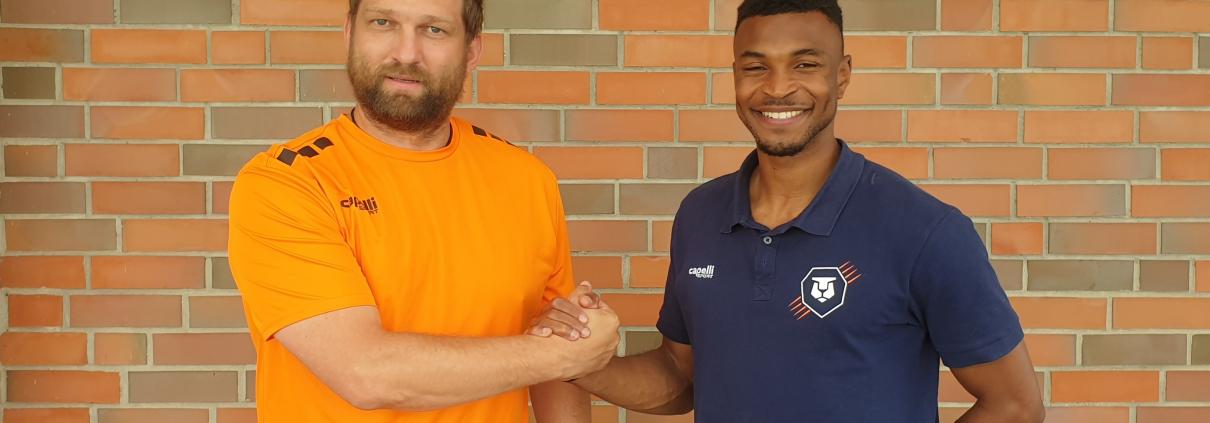Holländische Offensivpower: Joao Claudio Kiala stürmt für INTER Leipzig