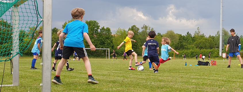Unser Jüngsten ganz groß - Mini-Fußball-Turnier am Sonntag