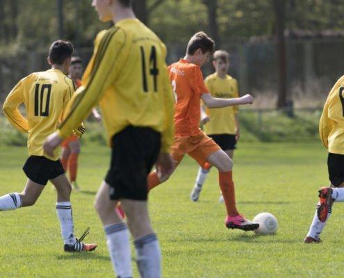 B- Jugend im Top Spiel gegen Olympia Leipzig